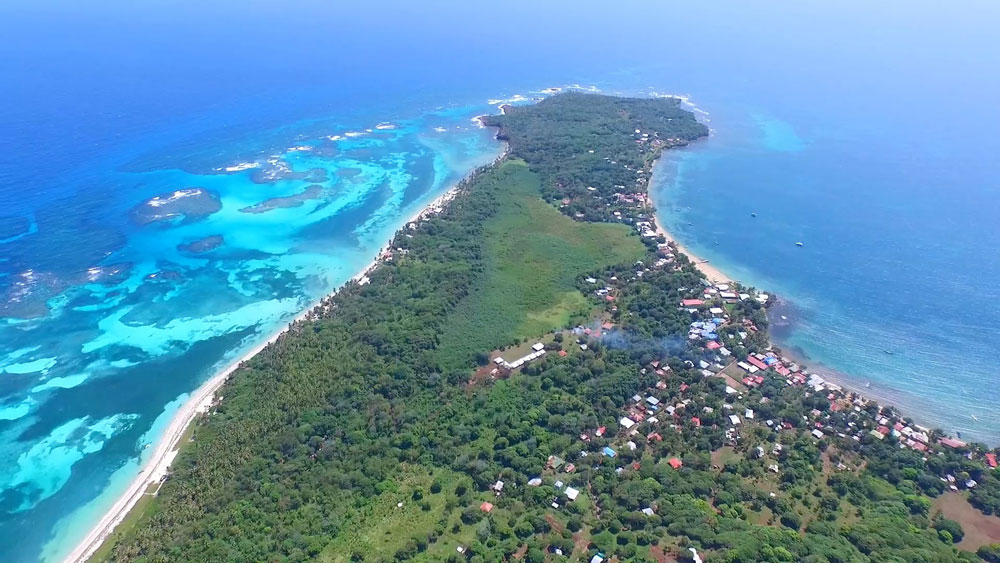 little-corn-island-nicaragua-beach-bungalow-eco-lodge-resort-hotel-aerial-island-view