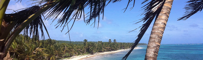 Little Corn Island Remote Tropical Island