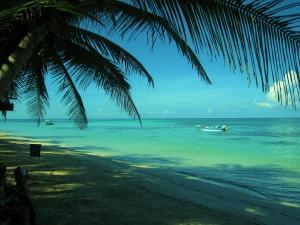 little-corn-island-beach-ocean-boat-panga-2